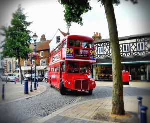 Routemaster London Double-Decker Bus